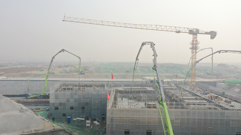 雄安河西110千伏变电站工程主体结构有新进展