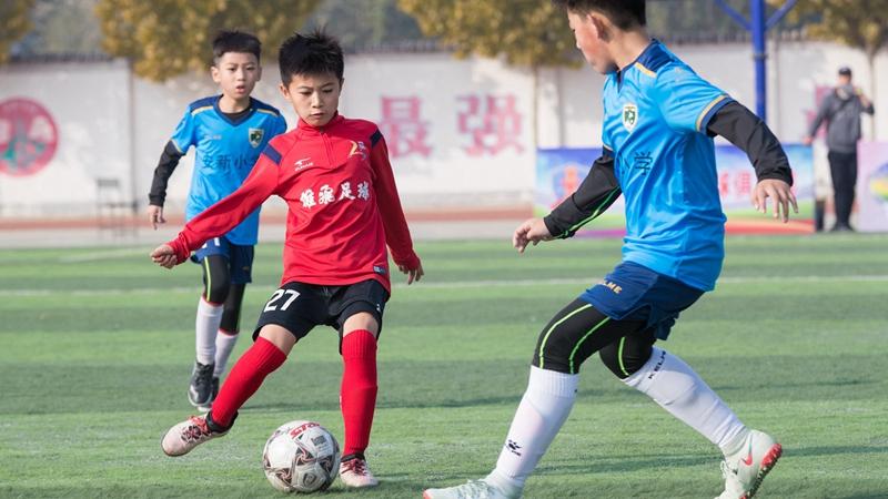 雄安第二届全民健身运动会足球比赛开赛